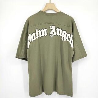パーム(PALM)の21SS【新品】Palm Angels  ロゴTシャツ M(Tシャツ/カットソー(半袖/袖なし))