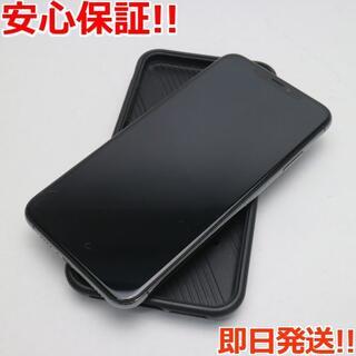 アイフォーン(iPhone)の良品中古 SIMフリー iPhoneXS MAX 512GB スペースグレイ (スマートフォン本体)
