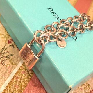Tiffany & Co. - TIFFANY ティファニー ロックチャーム ブレスレット 1837 SV925