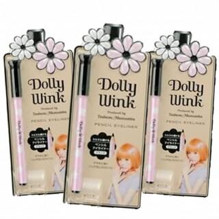ドーリーウィンク(Dolly wink)のドーリーウィンク▶ペンシルアイライナー 3本(アイライナー)