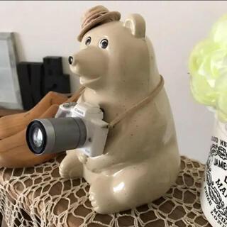 ミニチュア カメラ / ホワイト(アクセサリータイプ)(その他)