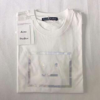 アクネ(ACNE)の新品  Acne Studios ホワイト メンズ Tシャツ M カットソ(Tシャツ/カットソー(半袖/袖なし))