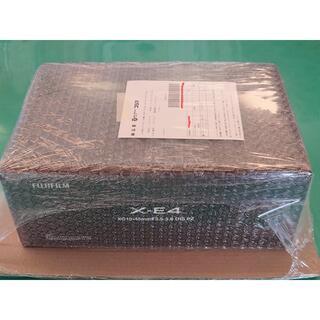 富士フイルム - FUJIFILM X-E4 ブラック レンズキット 未使用新品