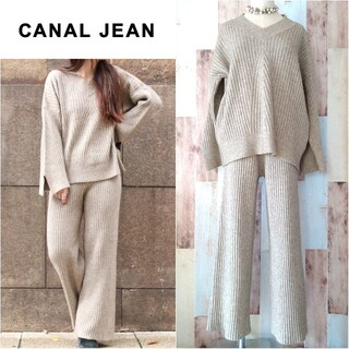 TODAYFUL - 極美品【RED CHOP WORKS♥CANALJEAN】リブニットセットアップ