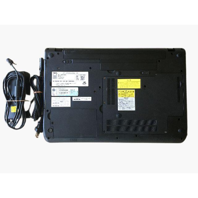 NEC(エヌイーシー)のSSD256G+HDD500G i5 メモリ8G Win10 LS550/H スマホ/家電/カメラのPC/タブレット(ノートPC)の商品写真