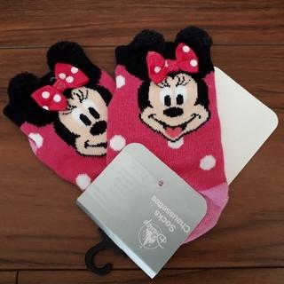 Disney - 新品!ベビー靴下 ミニー 14~15㎝