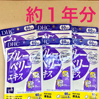 DHC - ブルーベリーエキス サプリ 60日分×6袋 DHC ブルーベリー エキス