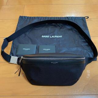 サンローラン(Saint Laurent)のSAINT LAURENT PARIS クロスボディバッグ 購入金額約11万円(ボディーバッグ)