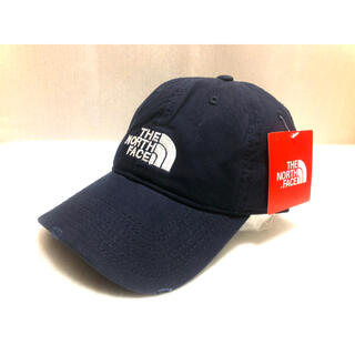 THE NORTH FACE - 新品THE NORTH FACE Logo Cap キャップ 紺 ネイビー
