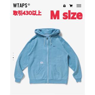 W)taps - 21SS WTAPS FLAT HOODED BLUE Mサイズ