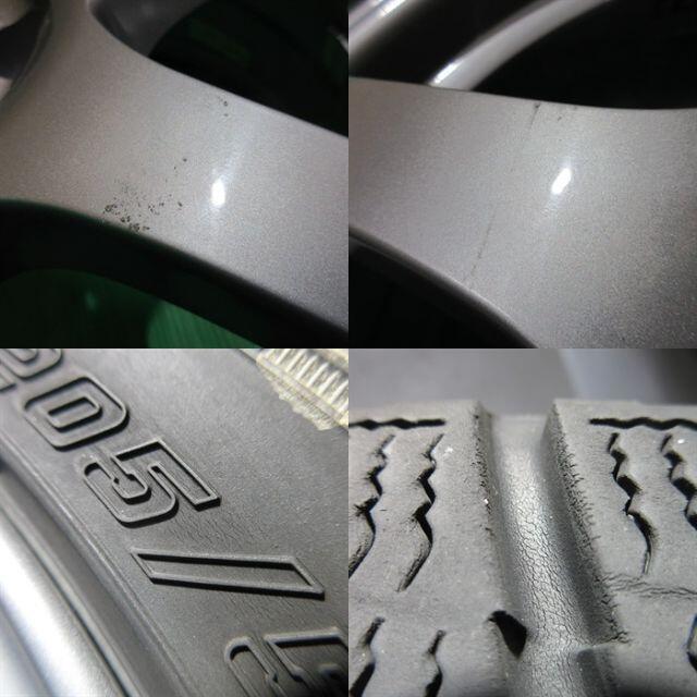 Goodyear(グッドイヤー)のインプレッサ 205/55R16 2018年スタッドレス 86 プリウス BRZ 自動車/バイクの自動車(タイヤ・ホイールセット)の商品写真