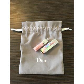 Christian Dior - Dior♡マキシマイザーミニリップ&巾着ノベルティ