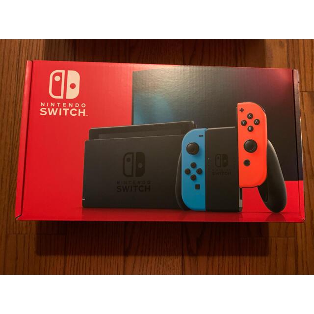 Nintendo Switch(ニンテンドースイッチ)のswitch ネオン 本体 台数増加承れます。 エンタメ/ホビーのゲームソフト/ゲーム機本体(家庭用ゲーム機本体)の商品写真