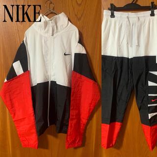 NIKE - NIKE ナイキ ナイロンジャケット パンツ セットアップ 刺繍スウッシュ