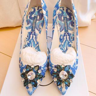 ドルチェアンドガッバーナ(DOLCE&GABBANA)のDolce&Gabbana パンプス 美品(ハイヒール/パンプス)