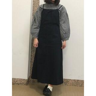 SM2 - *SM2*【新品タグ付き】リネン混☆衿ぐりレース袖ギャザーブラウス♪*ブラック