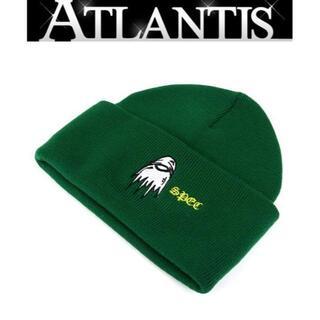 クロムハーツ(Chrome Hearts)のクロムハーツ 新品 ニット帽 PPO SPEC ニットキャップ 緑【83303】(ニット帽/ビーニー)