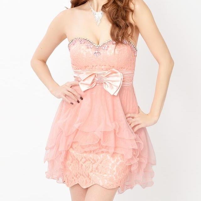 dazzy store(デイジーストア)のdazzy ミニドレス Aライン キャバドレス ミニワンピース 大きいサイズ レディースのフォーマル/ドレス(ミニドレス)の商品写真