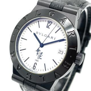 ブルガリ(BVLGARI)のブルガリ LC35S デイト ディアゴノ スポーツ メンズ腕時計 ブラック(腕時計(アナログ))