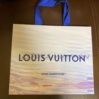LOUIS VUITTON - ルイヴィトン LOUIS VUITTON ショップ袋  限定 銀座並木通り店