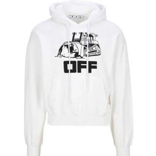 オフホワイト(OFF-WHITE)のoff-whiteパーカー(パーカー)