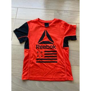 リーボック(Reebok)のリーボック Reebok Tシャツ 子供 オレンジ 美品(Tシャツ/カットソー)