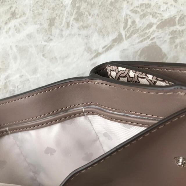 kate spade new york(ケイトスペードニューヨーク)の新品!ケイトスペード 三つ折り財布 ホワイト ベージュ レディースのファッション小物(財布)の商品写真