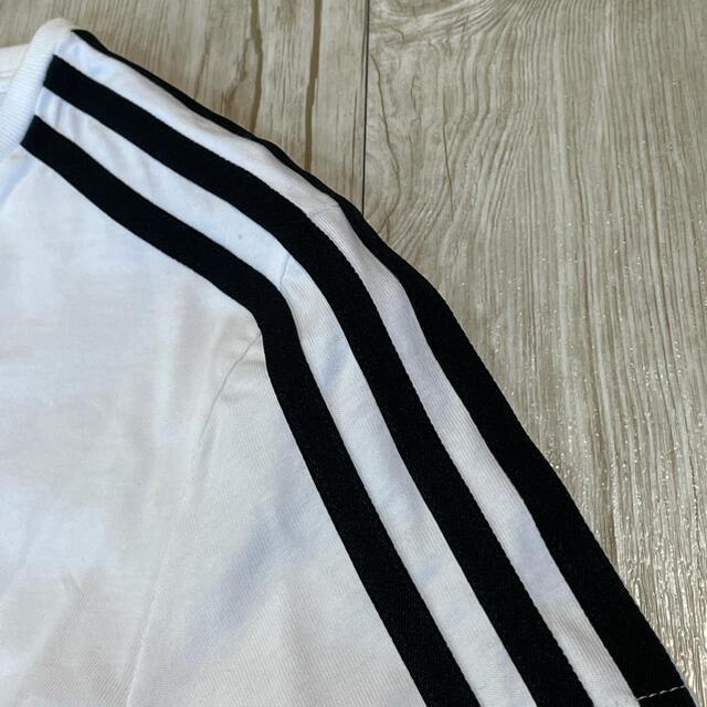 adidas(アディダス)の新品 アディダス adidas Tシャツ ワンピース チュールワンピース M レディースのワンピース(ひざ丈ワンピース)の商品写真