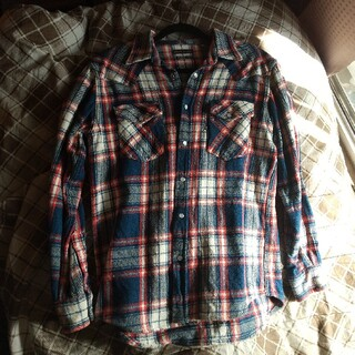 ブルーブルー(BLUE BLUE)の厚手のネルシャツ(シャツ)