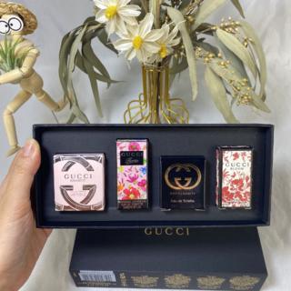 グッチ(Gucci)のGucci黒箱レディースフレグランス4個5ml(香水(女性用))