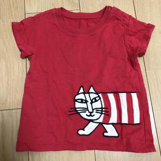 UNIQLO - ユニクロ リサラーソン 半袖 コットン Tシャツ 80cm 男女兼用