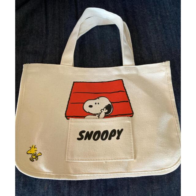 SNOOPY(スヌーピー)のスヌーピー バッグ レディースのバッグ(トートバッグ)の商品写真