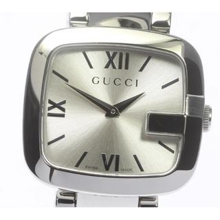 グッチ(Gucci)の☆美品 グッチ  スクエア 125.4 クォーツ メンズ 【中古】(腕時計(アナログ))