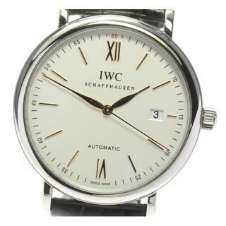 インターナショナルウォッチカンパニー(IWC)の☆良品 IWC ポートフィノ デイト IW356517 メンズ 【中古】(腕時計(アナログ))