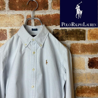 POLO RALPH LAUREN - Polo Ralph Lauren シャツストライプ レディースSサイズ