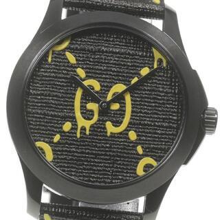 グッチ(Gucci)の☆極美品 グッチ Gタイムレス ゴースト メンズ 【中古】(腕時計(アナログ))