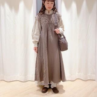 SM2 - SM2サマンサモスモス今季完売パーツレースワンピース新品 モカ