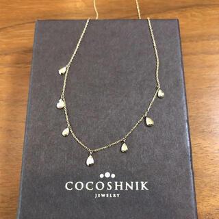 COCOSHNIK - ココシュニック  K10 ダイヤカットネックレス