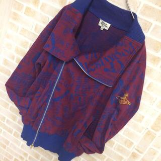 Vivienne Westwood - 【総柄デザイン】ヴィヴィアンウエストウッドマン GUCCI ニットジャケット