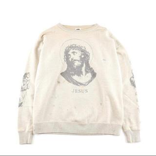 LADY MADE - saint michael jesus セントマイケル スウェット ヴィンテージ