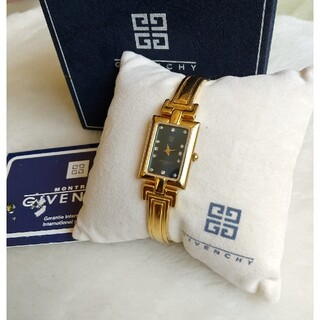 ジバンシィ(GIVENCHY)のジバンシー GIVENCHY 腕時計 美品レディースクォーツ(腕時計)