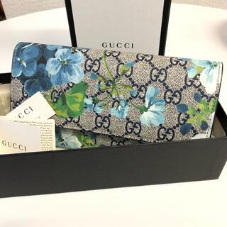 グッチ(Gucci)の★新品未使用★GUCCI ブルームス 長財布 正規品(財布)