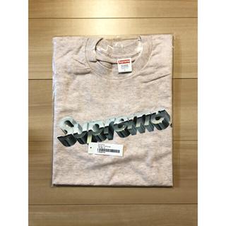 シュプリーム(Supreme)のシュプリーム Chrome Logo Tee pink(Tシャツ/カットソー(半袖/袖なし))