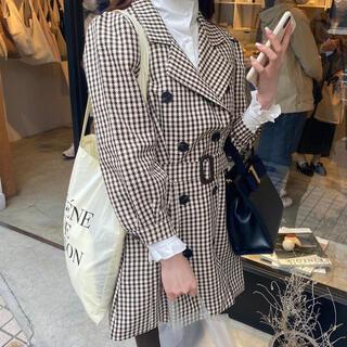 ZARA - 【Restock】 Check french jacket.