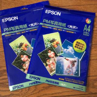 EPSON - 新品未開封✴︎EPSON PM写真用紙A4光沢