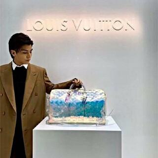 LOUIS VUITTON - ヴィトン 美品 キーポル スケルトン バッグ