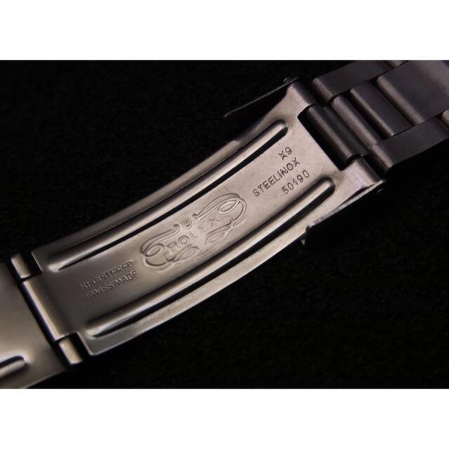 ROLEX(ロレックス)の処分特価 20mm SSハードブレスタイプ ブレスレット   メンズの時計(金属ベルト)の商品写真