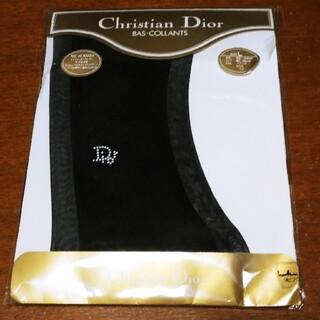 クリスチャンディオール(Christian Dior)のChristian Dior ディオール ストッキング 黒 ワンポイント(タイツ/ストッキング)
