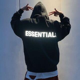 Essential - 新品未使用品★Sサイズ  FOG★エッセンシャルズ★パーカー★ブラック