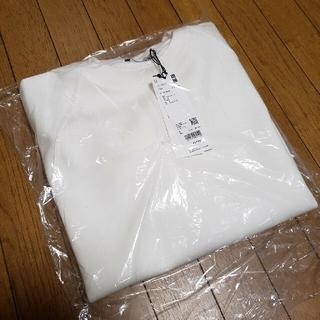 UNIQLO - ユニクロ +j ドライスウェットシャツ メンズ オフホワイト L